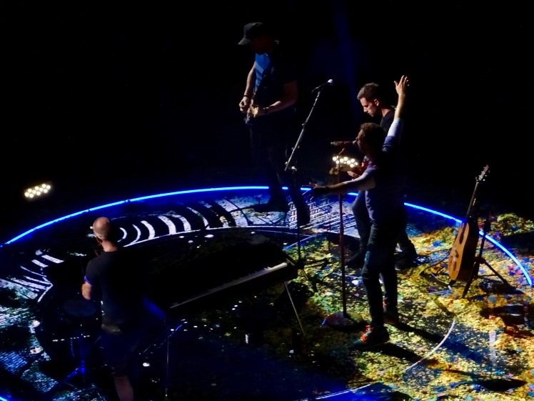 Coldplay B Stage Rogers Place Edmonton September 27 2017