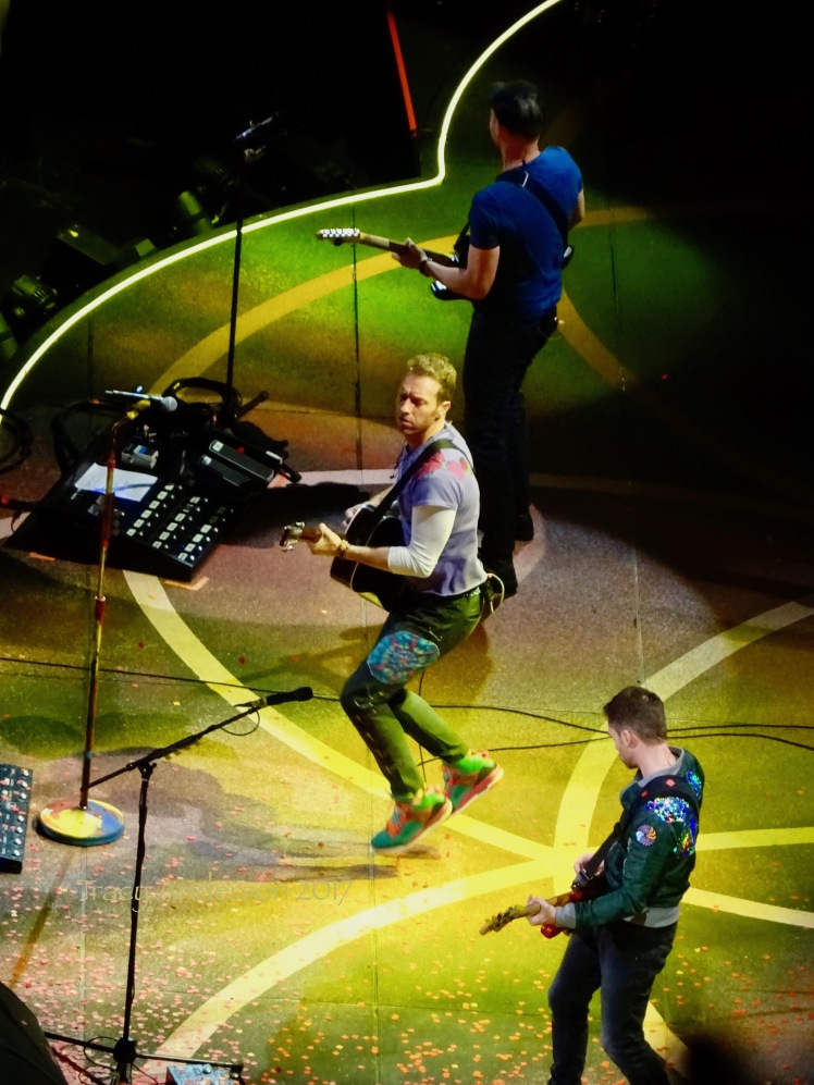 Coldplay Rogers Place Edmonton September 27 2017