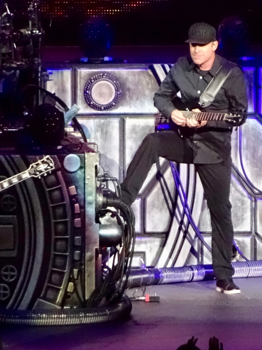 Mike Kroeger of Nickelback Rogers Place Edmonton Sept 28 2017