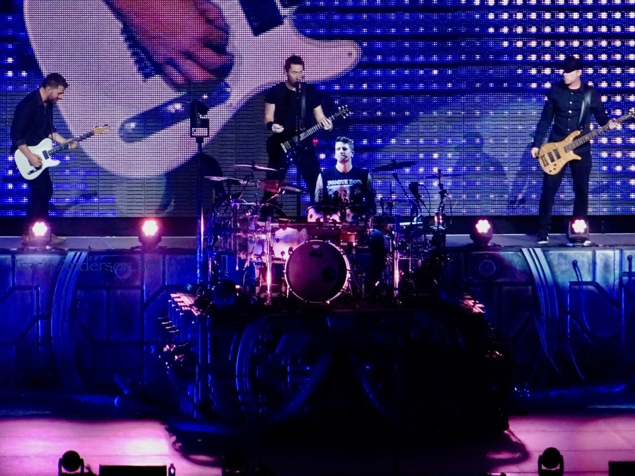 Nickelback Platform Feed The Machine Tour Rogers Place Edmonton Sept 28 2017