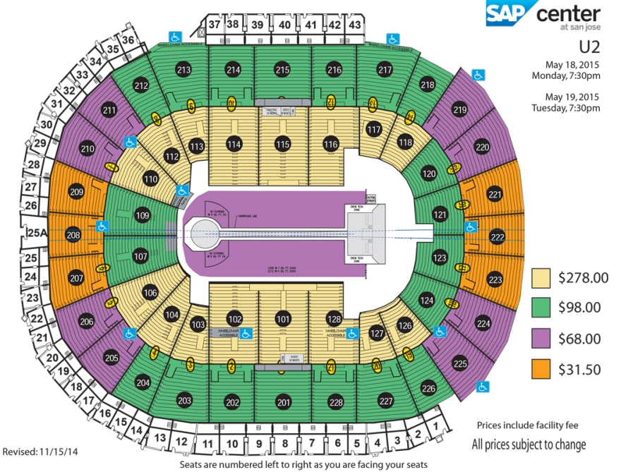 U2-SAP - Seating-Chart