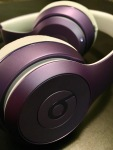 Beats by Dre Solo3 Wireless Headphones Ultraviolet folded