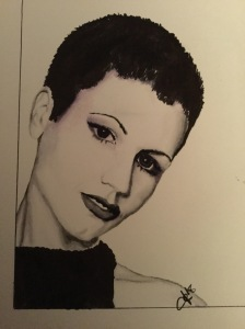 Dolores O'Riordan The Cranberries Staedtler Mars Graphic 3000 Markers