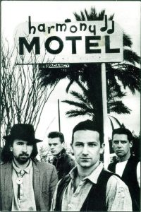 U2 at The Harmony Hotel 1987