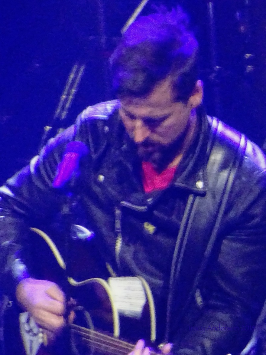 Raine Maida Guitar Our Lady Peace Edmonton Mar 27 2018