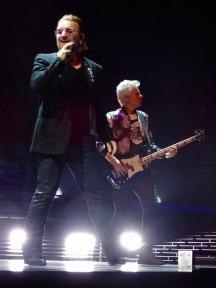 Adam and Bono U2 eiTour Las Vegas May 11 2018