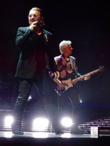 Adam and Bono U2 eiTour Las Vegas May 11 2018