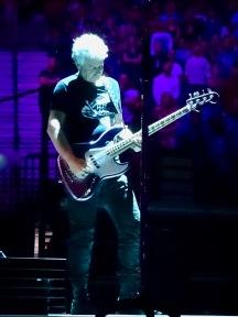 Adam Clayton purple U2 eiTour Las Vegas May 11 2018