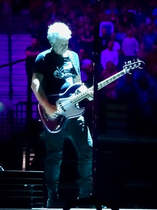 Adam Clayton purple U2 eiTour Las Vegas May 11 2018