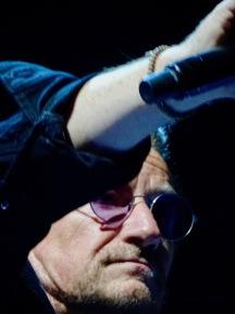 Bono close up arm U2 eiTour Las Vegas May 11 2018