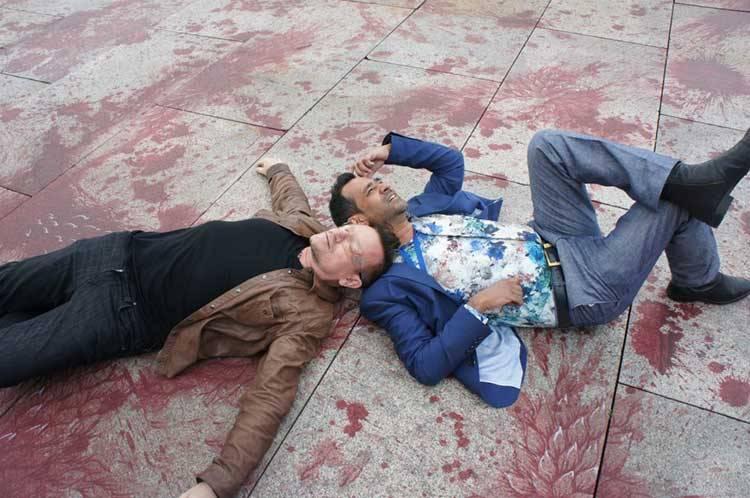 Bono and Imran Qureshi New York