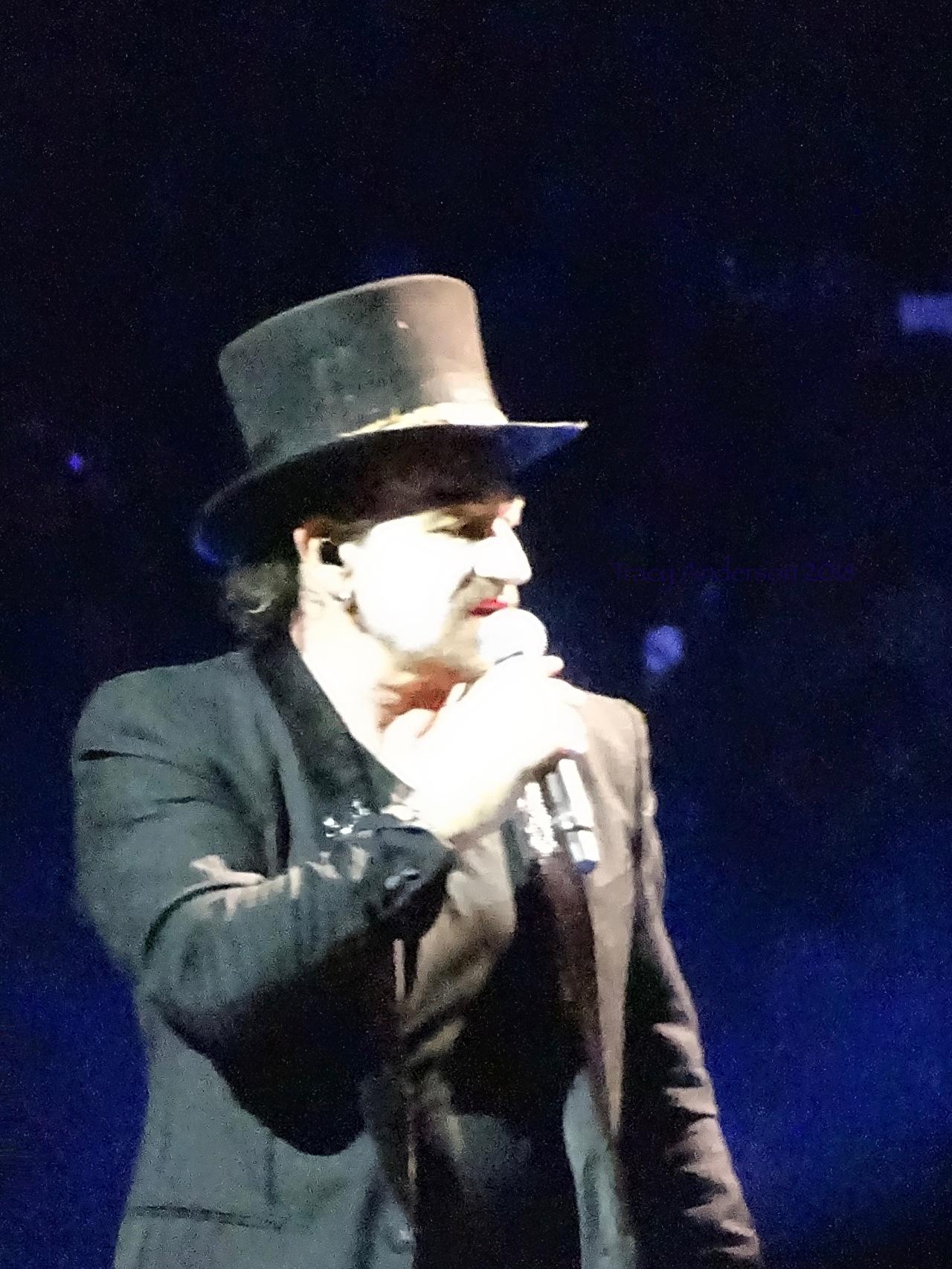 Bono Return of MacPhisto U2 eiTour Las Vegas May 11 2018