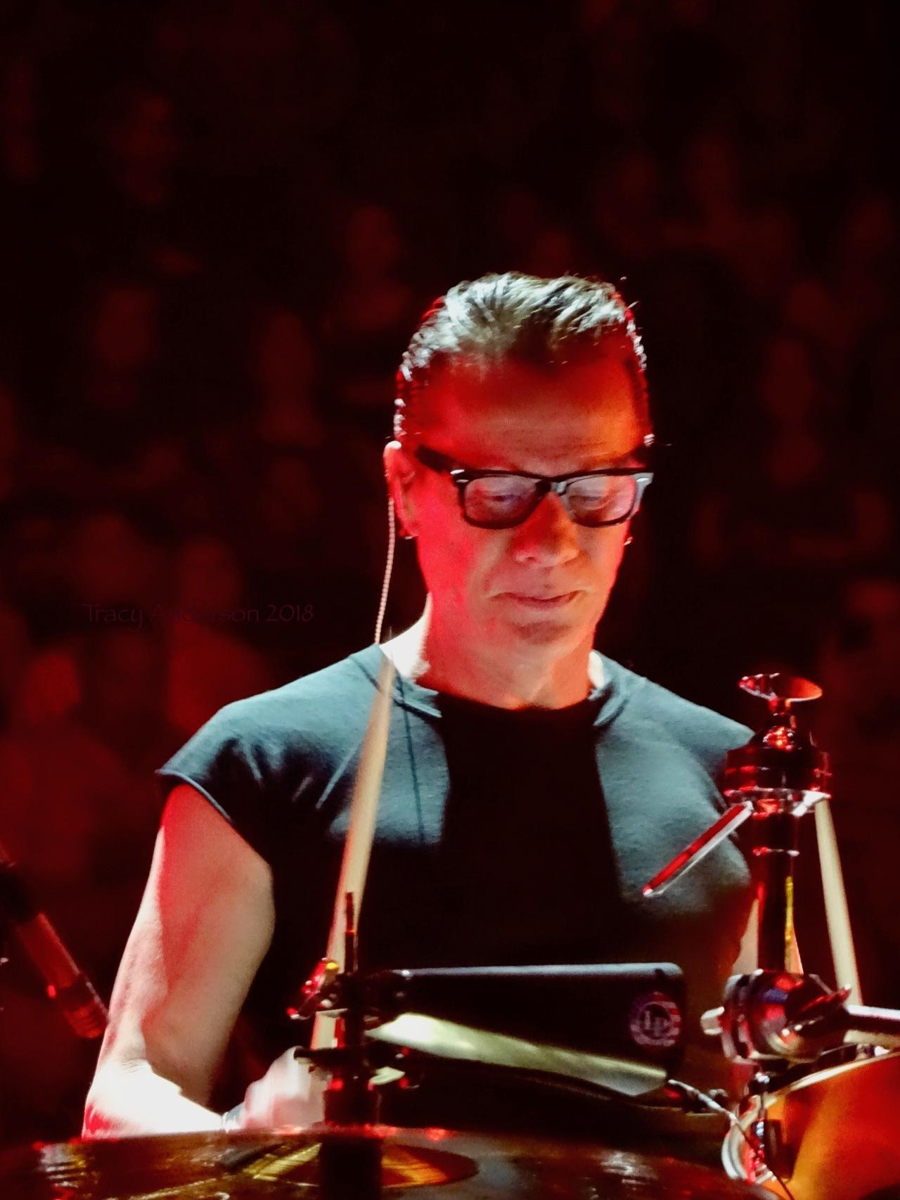 Larry Mullen U2 eiTour Las Vegas May 11 2018