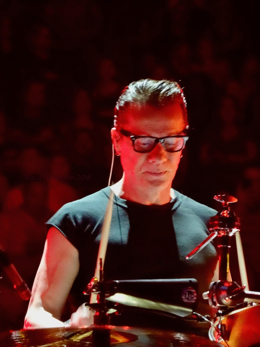 Larry Mullen U2 eiTour Las Vegas May 11 2018