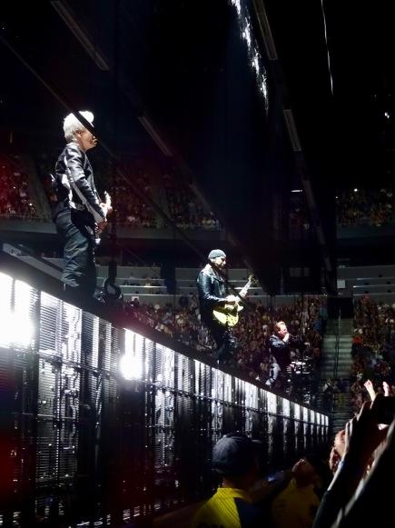 U2 cage eiTour Las Vegas May 11 2018