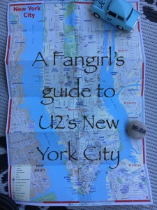 U2 Sites in New York City Title