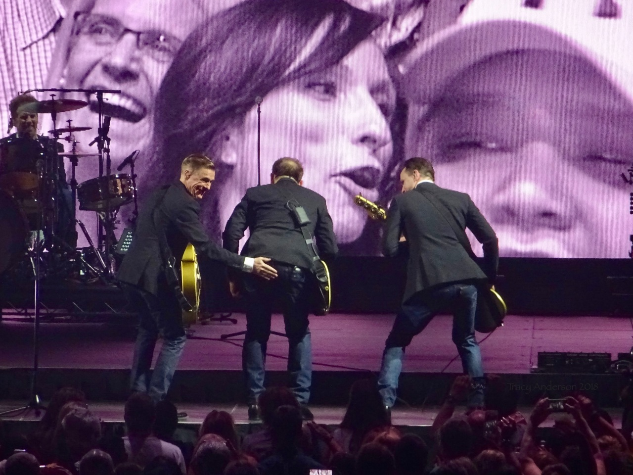 Bryan Adams and Band Back Slap The Ultimate Tour Edmonton Rogers Place June 8 2018