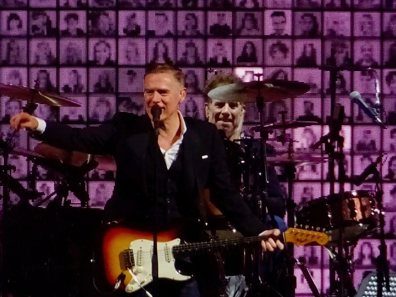 Bryan Adams Faces Edmonton Rogers Place June 8 2018