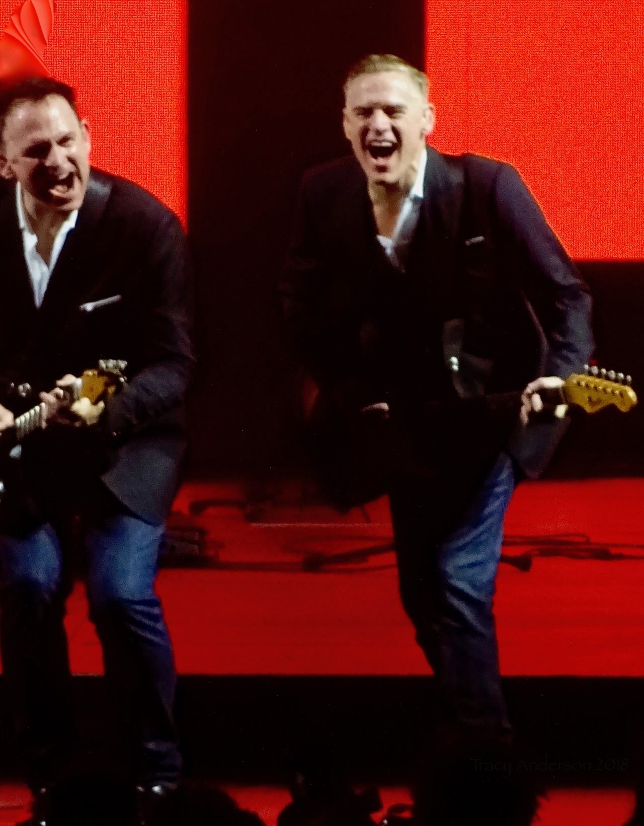 Bryan Adams Red The Ultimate Tour Edmonton Rogers Place June 8 2018