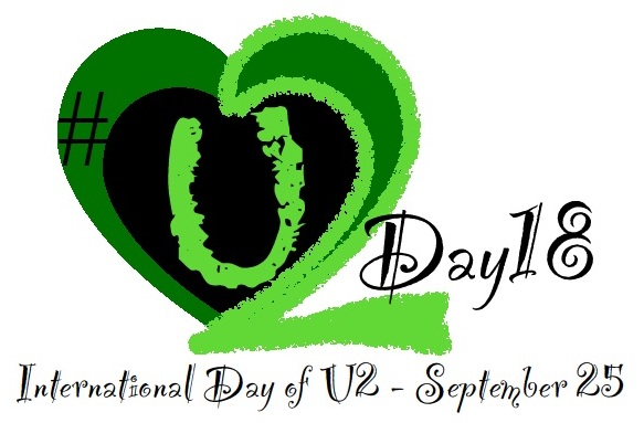 Set The Date! September 25 is U2 Day 2018