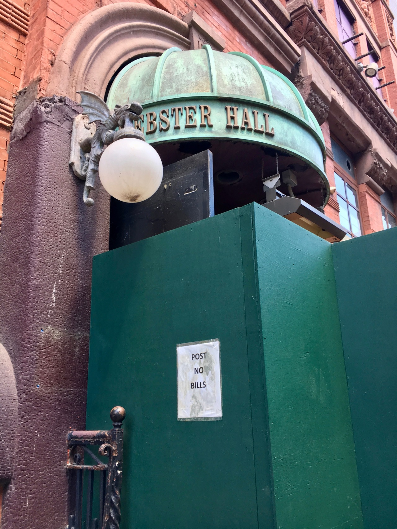 Webster Hall Previously The Ritz where U2 played their first US gig in 1980 June 2018.jpg