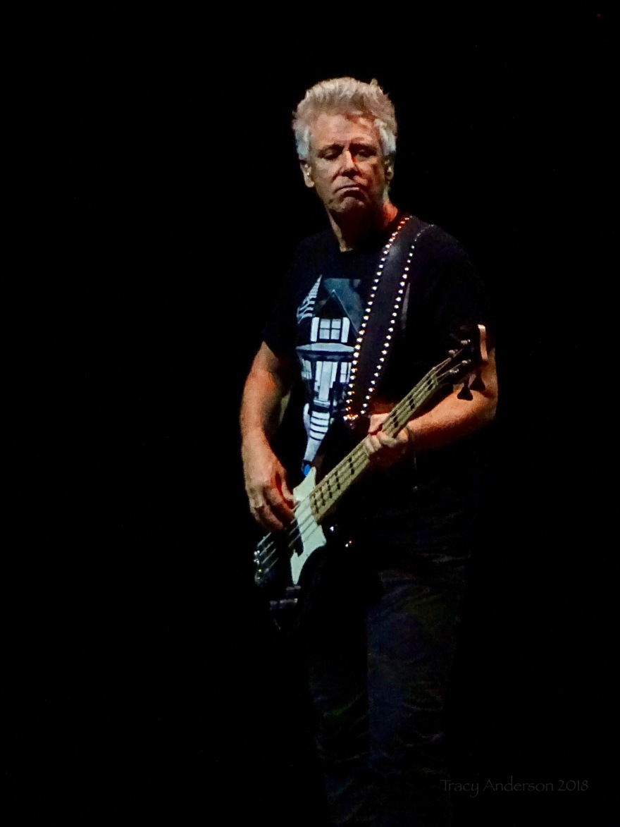 Adam Clayton Bass U2 eXPERIENCE & iNNOCENCE Tour NJ June 29 2018