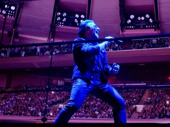 Blue Bono U2 eXPERIENCE & iNNOCENCE Tour MSG June 26 2018