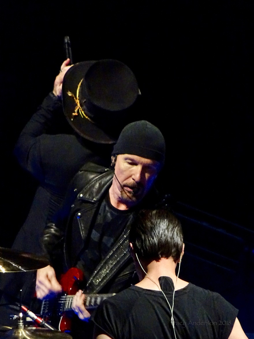 Bono Edge Larry Mullen Jr U2 eXPERIENCE & iNNOCENCE Tour NJ June 29 2018