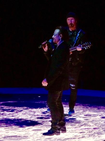 Bono Edge Moon U2 eXPERIENCE & iNNOCENCE Tour NJ June 29 2018