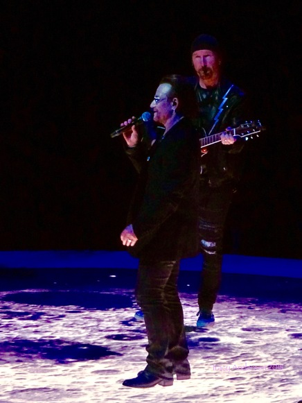 Bono Edge Moon U2 eXPERIENCE & iNNOCENCE Tour NJ June 29 2018
