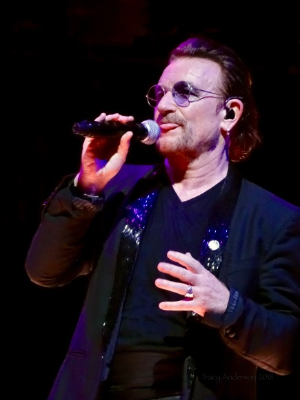 Bono Tongue U2 eXPERIENCE & iNNOCENCE Tour MSG June 26 2018
