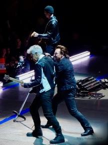Edge Bono Adam U2 eXPERIENCE & iNNOCENCE Tour MSG June 25 2018