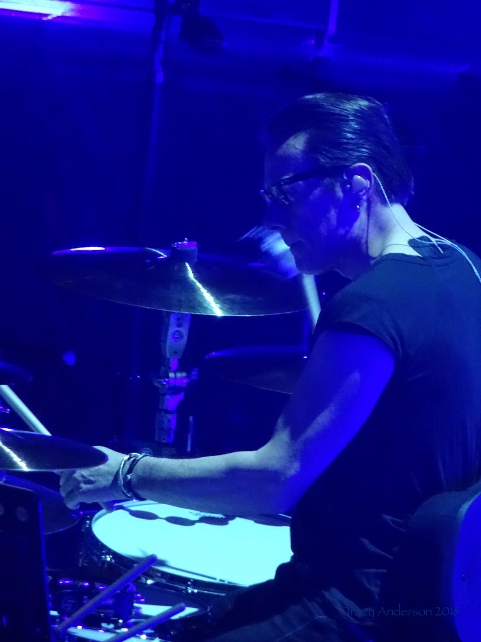 Larry Mullen Jr Blue U2 eXPERIENCE & iNNOCENCE Tour MSG June 25 2018