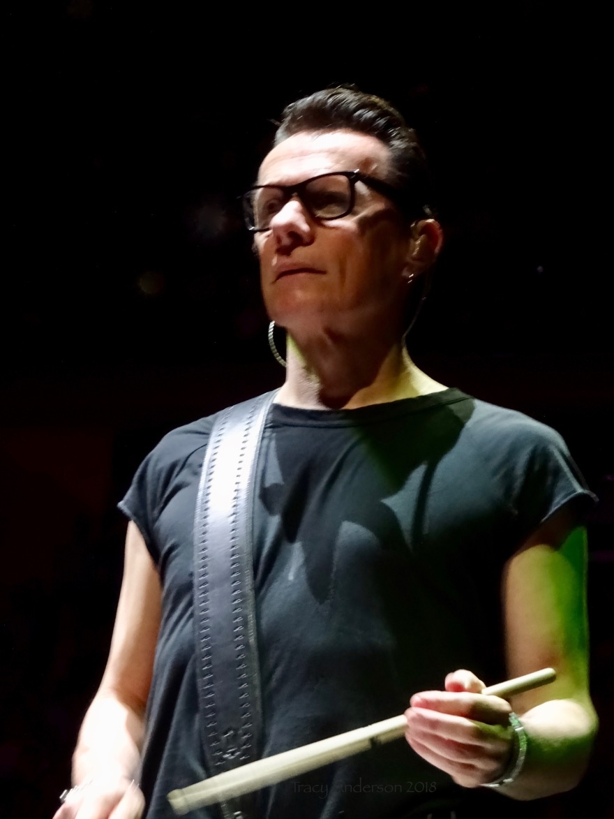 Larry Mullen Jr Close Up U2 eXPERIENCE & iNNOCENCE Tour MSG June 26 2018