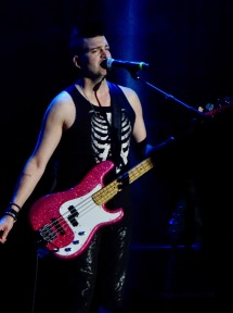 Mike Ayley Bass Guitar Marianas Trench K Days Edmonton July 21 2018
