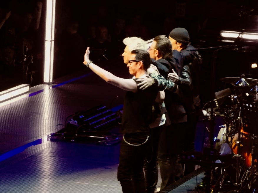U2 Goodnight eXPERIENCE & iNNOCENCE Tour MSG June 25 2018