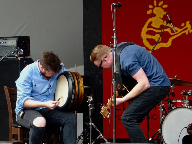 David Foley and Adam Brown Rura Edmonton Folk Music Fest 2018