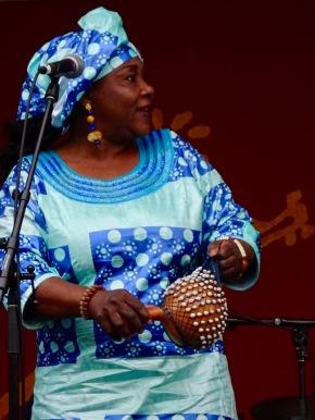 Hawa Kasse Mady of Trio Da Kali