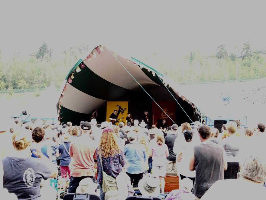 Step Crew Stage Edmonton Folk Music Fest 2018