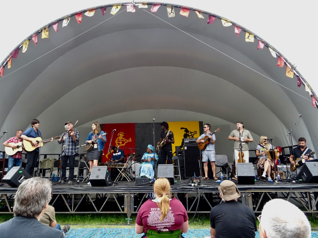 The Masters WorkShop Edmonton Folk Music Fest 2018