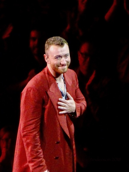 Sam Smith Grateful Rogers Place Edmonton Sept 12 2018