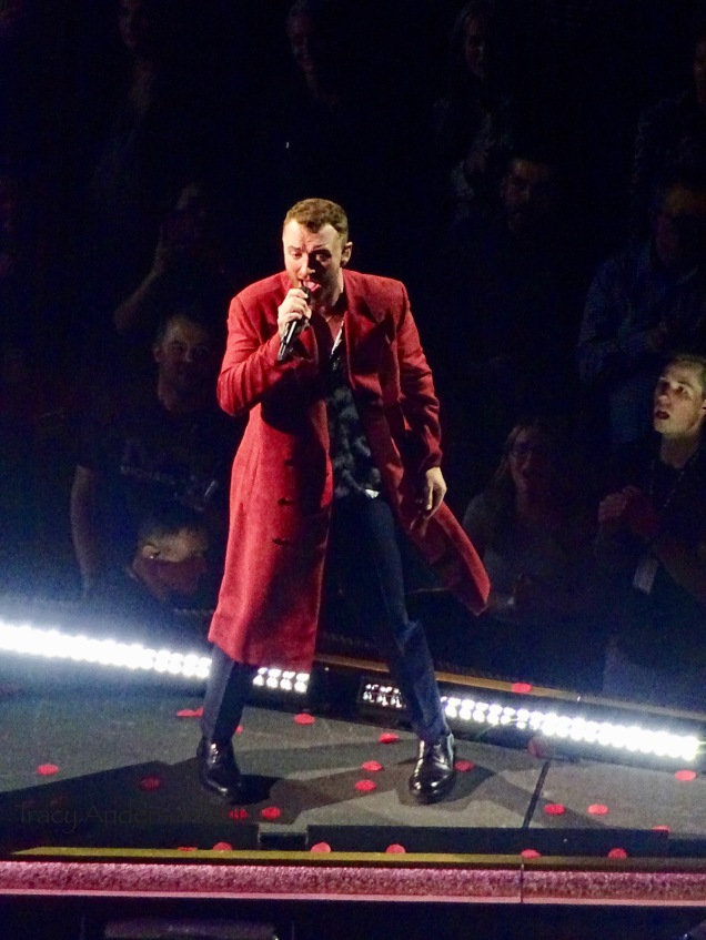 Sam Smith Red Coat Rogers Place Edmonton Sept 12 2018