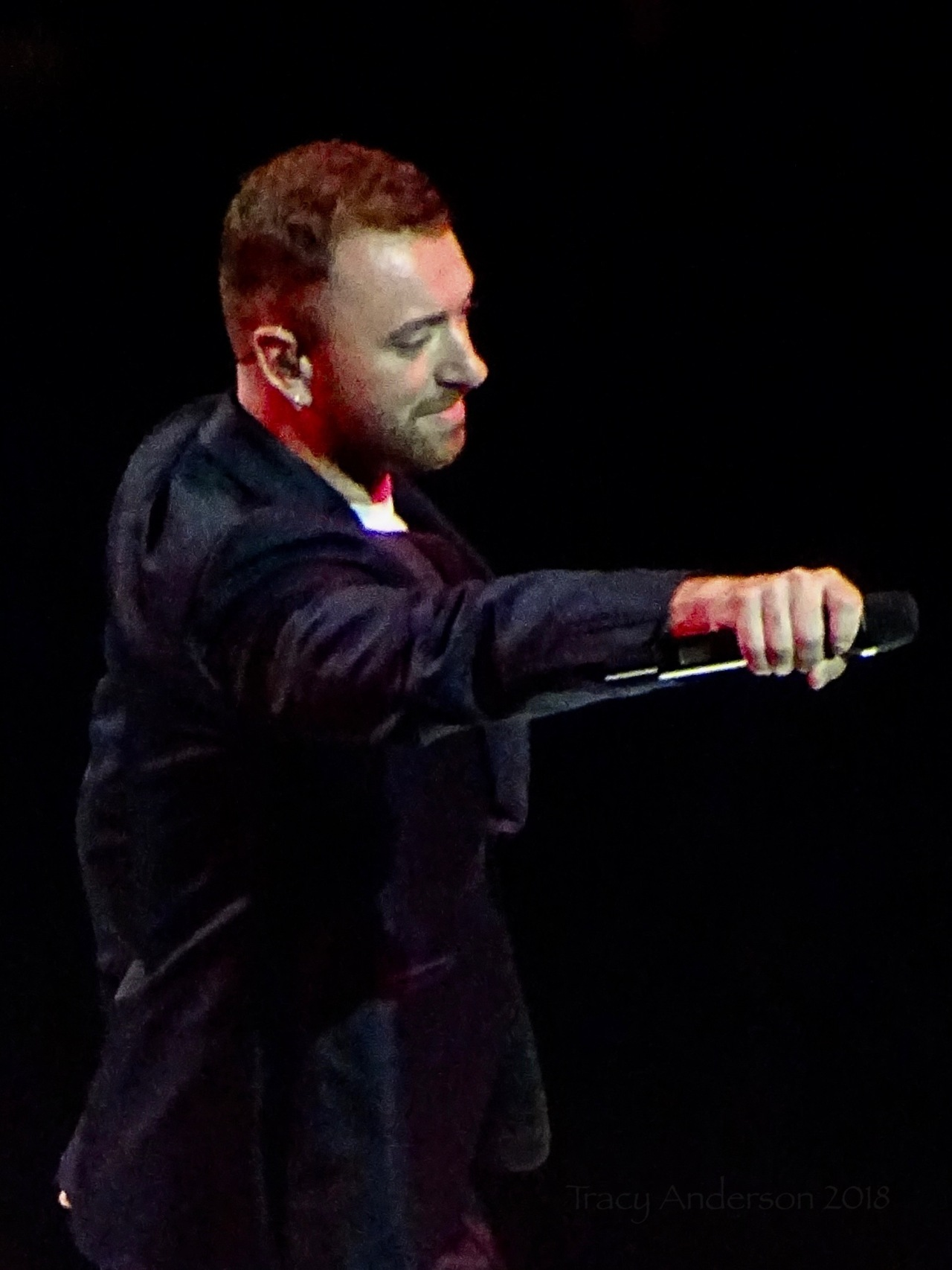 Sam Smith you sing Rogers Place Edmonton Sept 12 2018