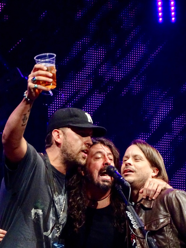 Dave Grohl Brothers Osbourne Foo Fighters Concrete and Gold Tour Rogers Place Edmonton Oct 22 2018