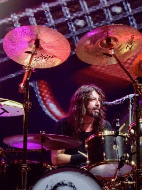 Dave Grohl Drums Profile Foo Fighters Concrete and Gold Tour Rogers Place Edmonton Oct 22 2018