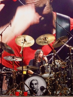 Dave Grohl Foo Fighters Concrete and Gold Tour Drums Rogers Place Edmonton Oct 22 2018