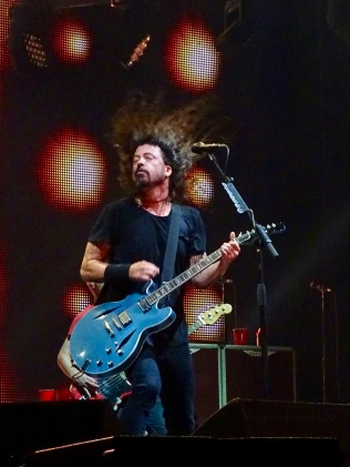 Dave Grohl Foo Fighters Concrete and Gold Tour Hair Rogers Place Edmonton Oct 22 2018