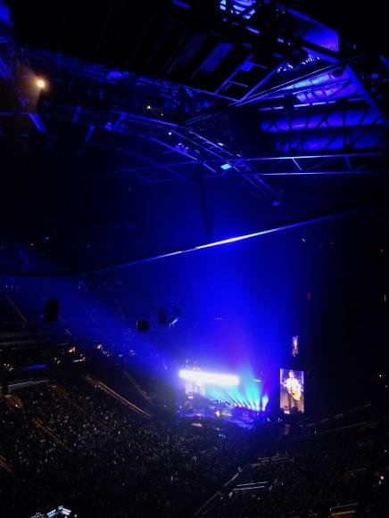 Paul McCartney Blue Rogers Freshen Up Tour Rogers Place Sept 30 2018