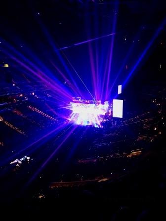 Paul McCartney Laser Rogers Freshen Up Tour Rogers Place Sept 30 2018