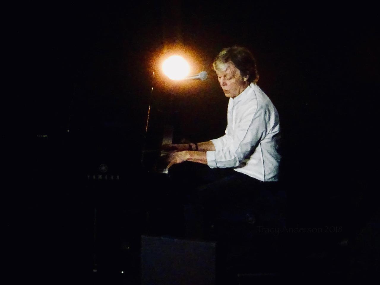 Paul McCartney Piano Freshen Up Tour Rogers Place Sept 30 2018